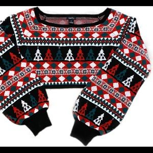 Christmas Crop Sweater by Rue21